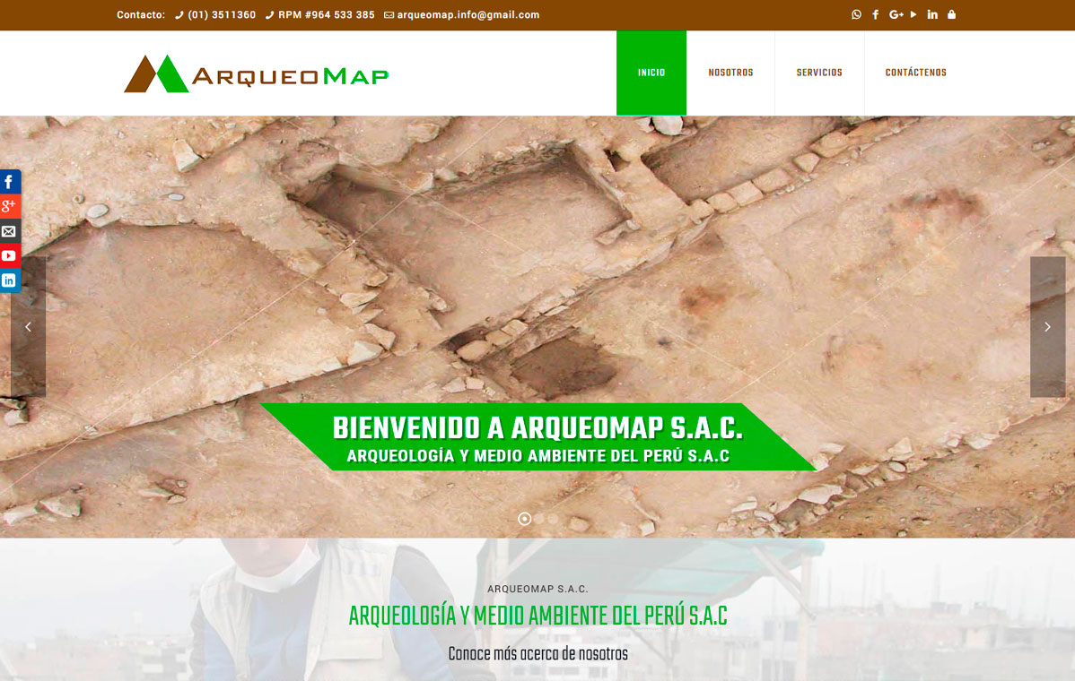 ARQUEOMAP S.A.C.